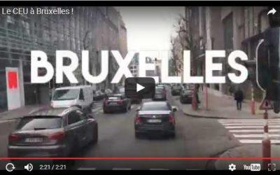 Le CEU à Bruxelles